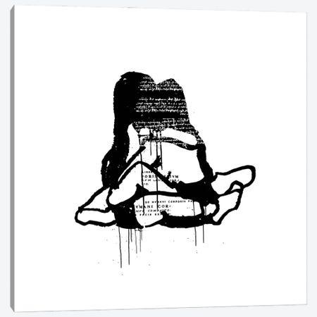 Embrace Canvas Print #DCA203} by Dai Chris Art Canvas Art