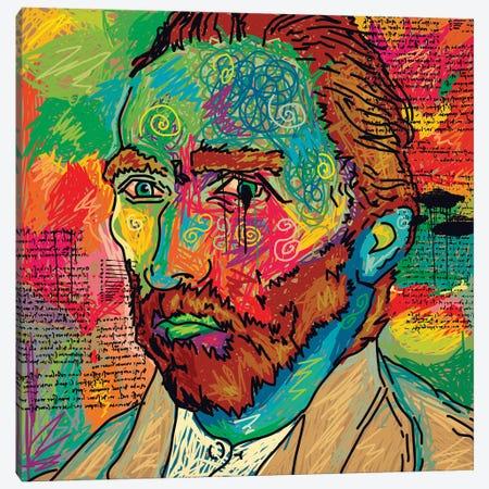 Van Gogh Canvas Print #DCA208} by Dai Chris Art Canvas Art