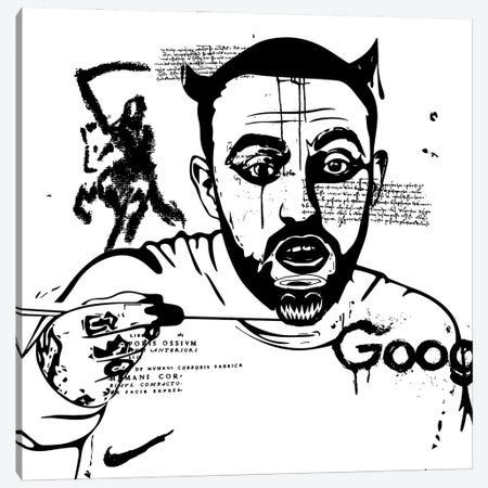 Mac 2020 Canvas Print #DCA212} by Dai Chris Art Art Print