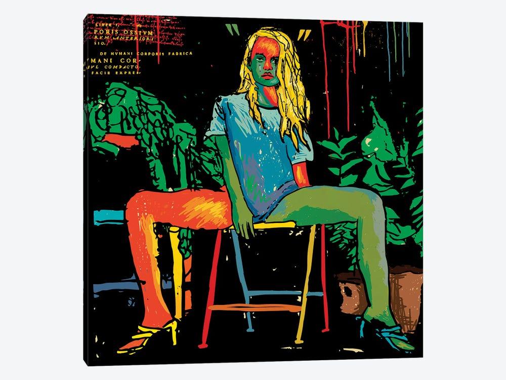 Sitting 2020 by Dai Chris Art 1-piece Canvas Wall Art