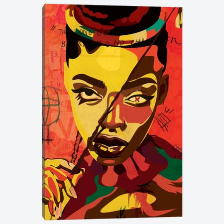 Kaji VI Canvas Print #DCA21} by Dai Chris Art Canvas Wall Art