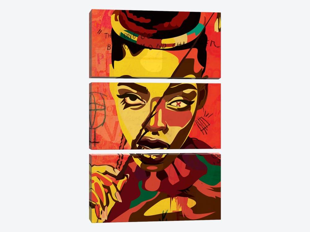 Kaji VI by Dai Chris Art 3-piece Canvas Art Print