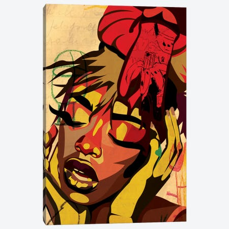 Kaji VII Canvas Print #DCA22} by Dai Chris Art Canvas Art