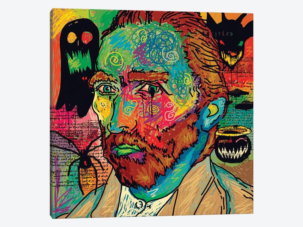 Van Gogh Spooky Version by Dai Chris Art 1-piece Canvas Wall Art