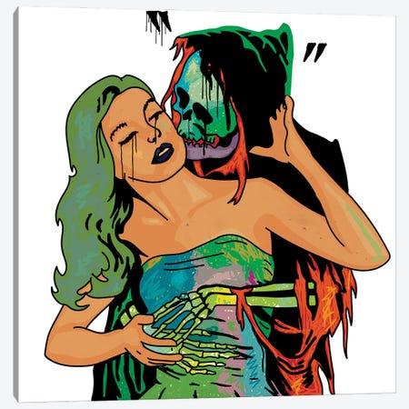 Love Hurts Canvas Print #DCA239} by Dai Chris Art Canvas Art Print