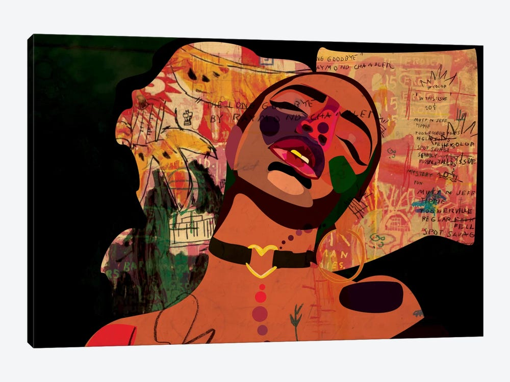 Kaji VIII by Dai Chris Art 1-piece Art Print
