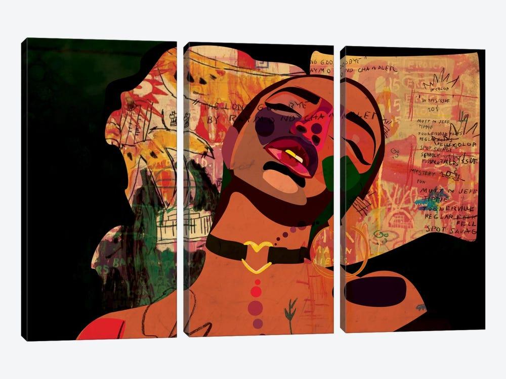 Kaji VIII by Dai Chris Art 3-piece Canvas Print