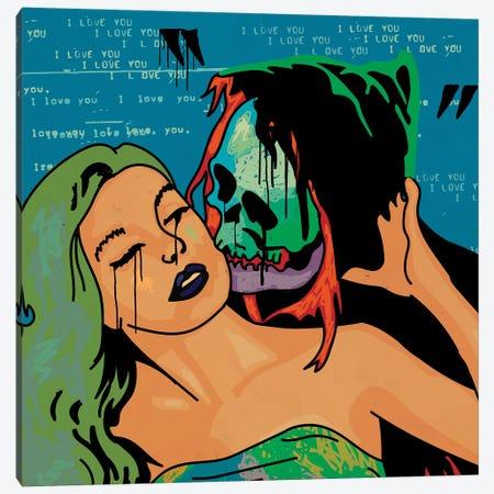 Love Hurts 2 Canvas Print #DCA240} by Dai Chris Art Canvas Wall Art