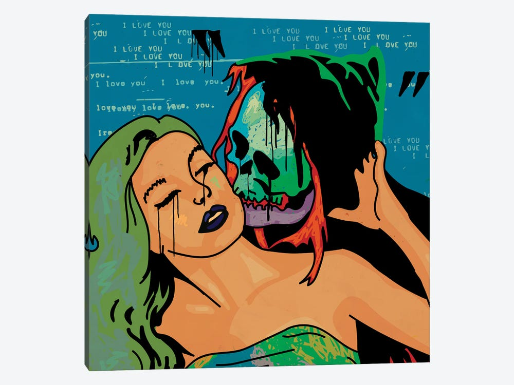 Love Hurts 2 by Dai Chris Art 1-piece Canvas Print