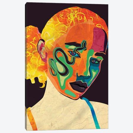 Polly Canvas Print #DCA243} by Dai Chris Art Canvas Wall Art