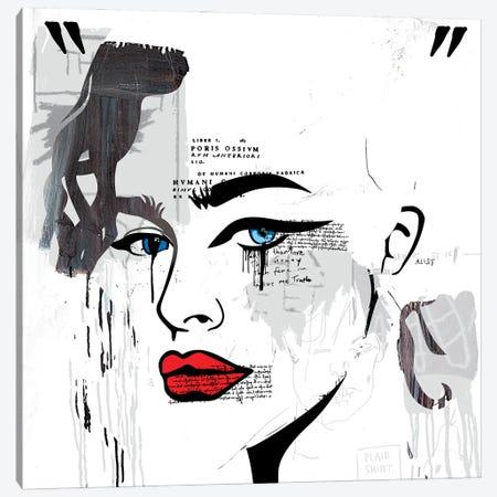 Grecian Classical Girl Canvas Print #DCA253} by Dai Chris Art Canvas Art Print