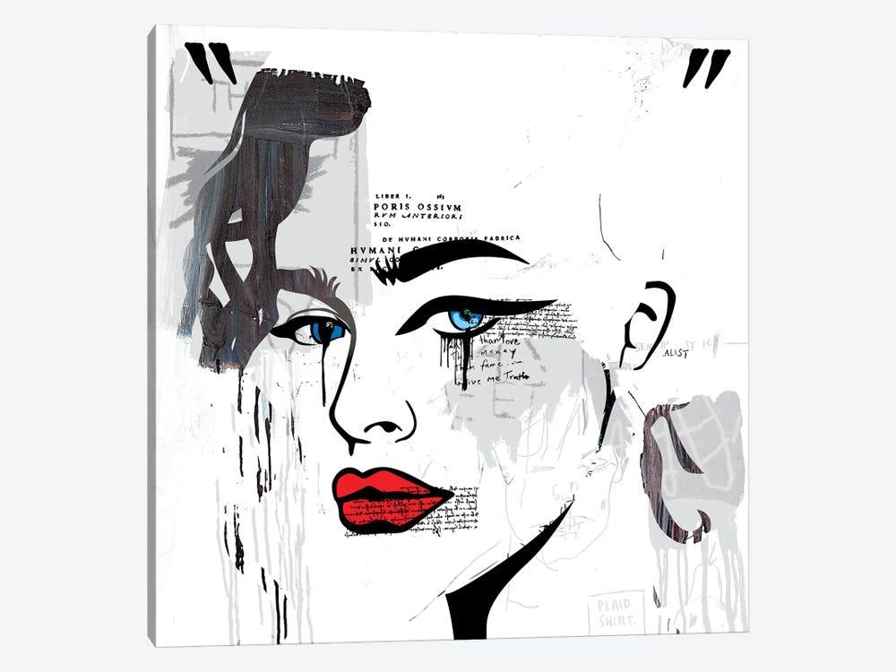 Grecian Classical Girl by Dai Chris Art 1-piece Canvas Print