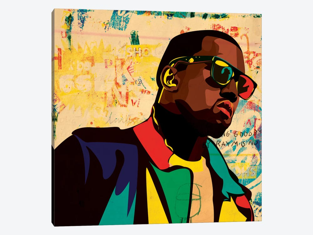 Kanye by Dai Chris Art 1-piece Canvas Print