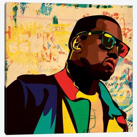 Kanye Canvas Print #DCA25} by Dai Chris Art Canvas Print