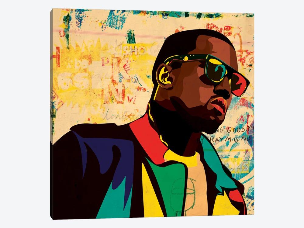 Kanye by Dai Chris Art 1-piece Canvas Print