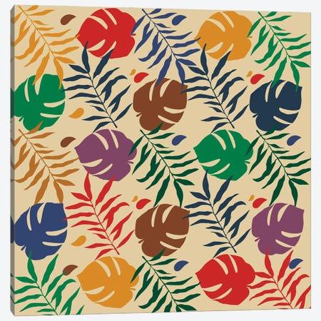 Hypebeast Floral Pattern Canvas Print #DCA268} by Dai Chris Art Canvas Artwork