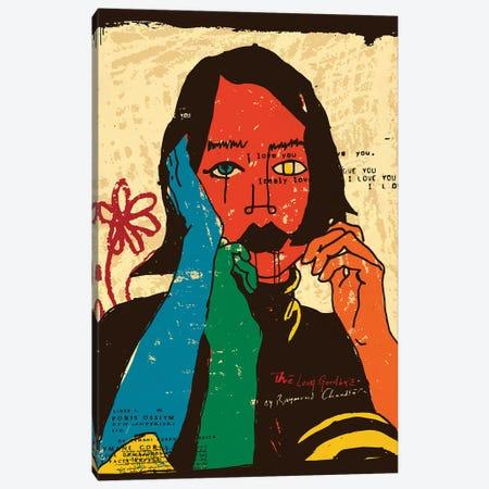 Cubist Columbiana Canvas Print #DCA274} by Dai Chris Art Canvas Art