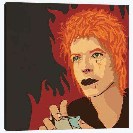 David Bowie Canvas Print #DCA282} by Dai Chris Art Canvas Art