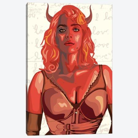 Billie Eilish 2021 Canvas Print #DCA299} by Dai Chris Art Canvas Art Print