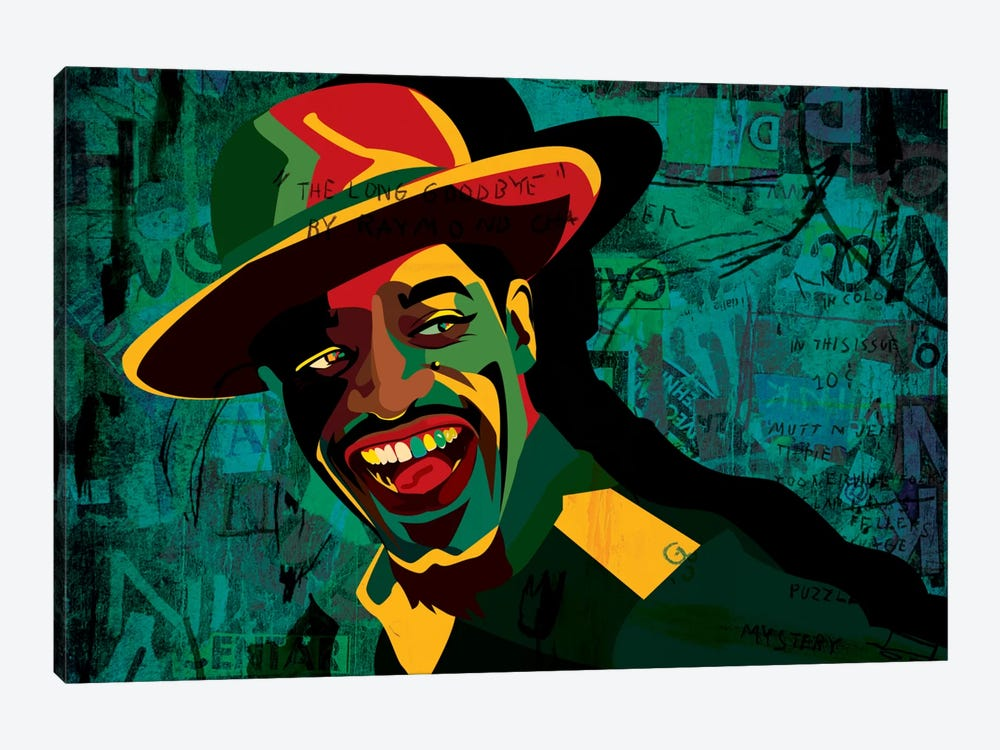 Andre 3000 by Dai Chris Art 1-piece Canvas Wall Art