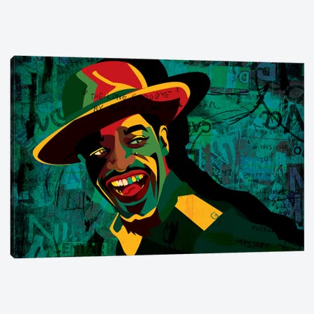 Andre 3000 Canvas Print #DCA2} by Dai Chris Art Canvas Art