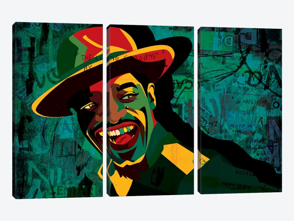 Andre 3000 by Dai Chris Art 3-piece Canvas Artwork