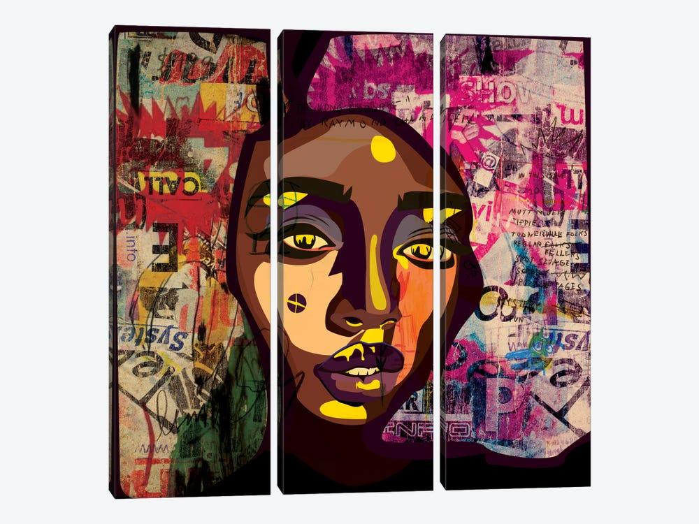 Marnue V by Dai Chris Art 3-piece Canvas Art Print