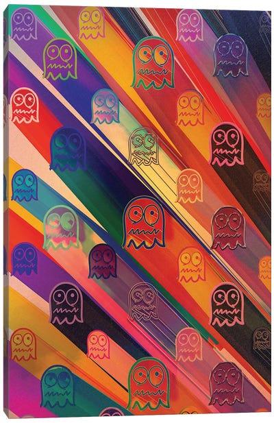 Pac-Man Space Ghost Wallpaper Canvas Art Print