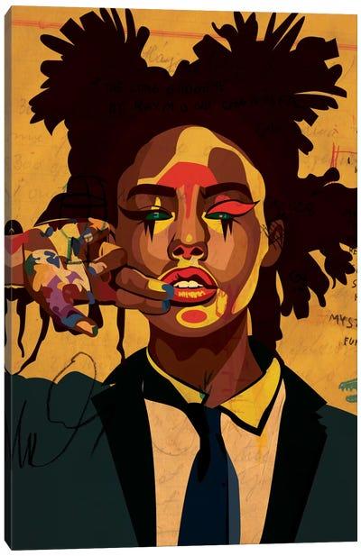 Painter Girl Canvas Print #DCA34