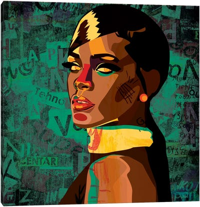 Rihanna I Canvas Art Print