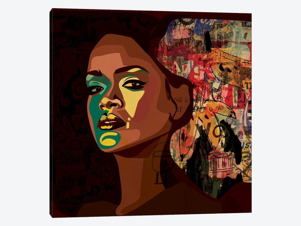 Rihanna II by Dai Chris Art 1-piece Canvas Print