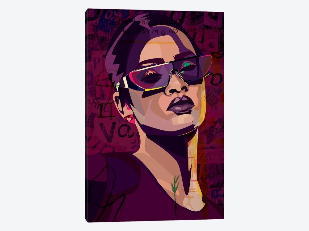 Rihanna III by Dai Chris Art 1-piece Canvas Artwork