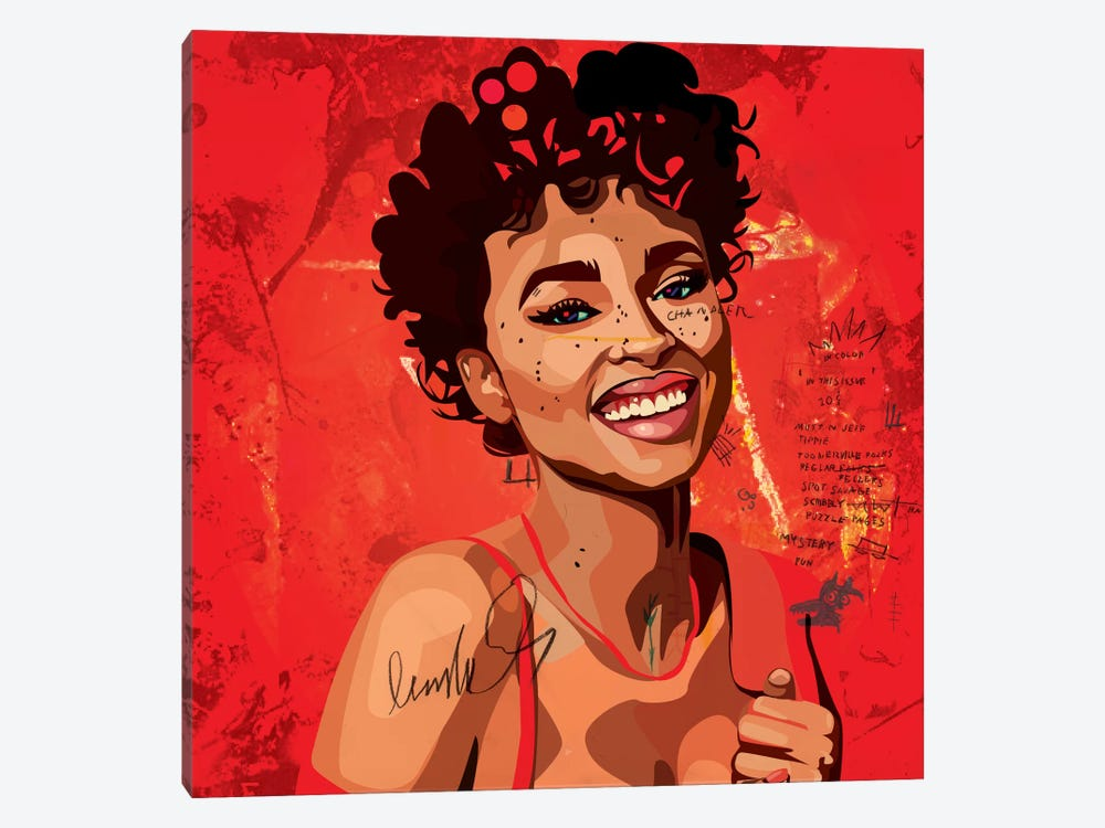 Ashlee Blake II by Dai Chris Art 1-piece Canvas Print