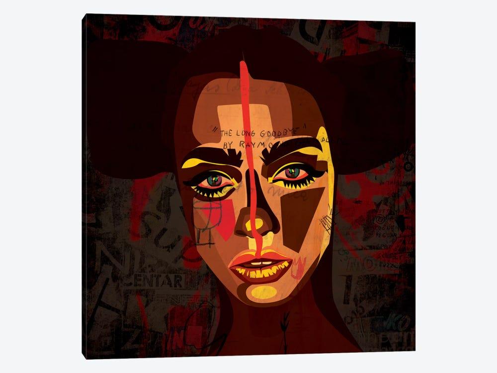Tribal Girl by Dai Chris Art 1-piece Canvas Print
