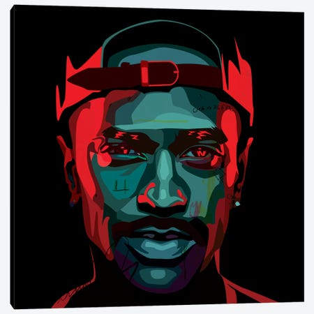 Big Sean I Canvas Print #DCA44} by Dai Chris Art Canvas Art Print
