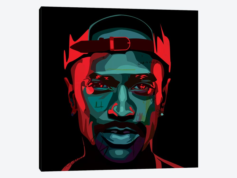 Big Sean I by Dai Chris Art 1-piece Canvas Wall Art
