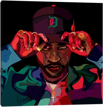 Big Sean II Canvas Art Print