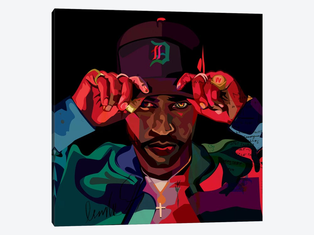 Big Sean II by Dai Chris Art 1-piece Canvas Art Print