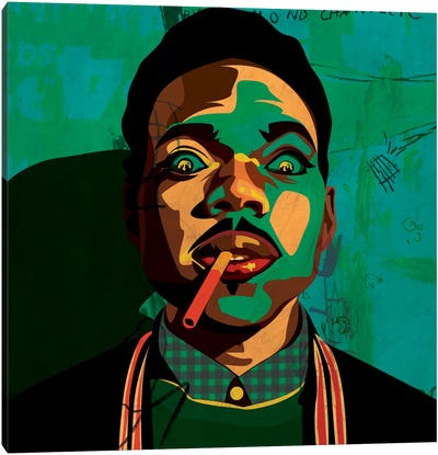 Chance The Rapper Canvas Art Print