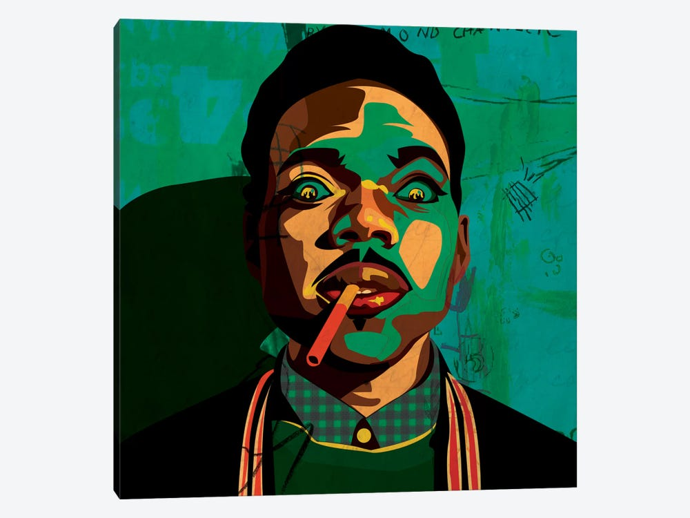 Chance The Rapper by Dai Chris Art 1-piece Canvas Print