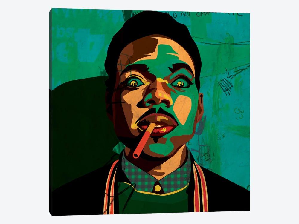 Chance The Rapper by Dai Chris Art 1-piece Canvas Print