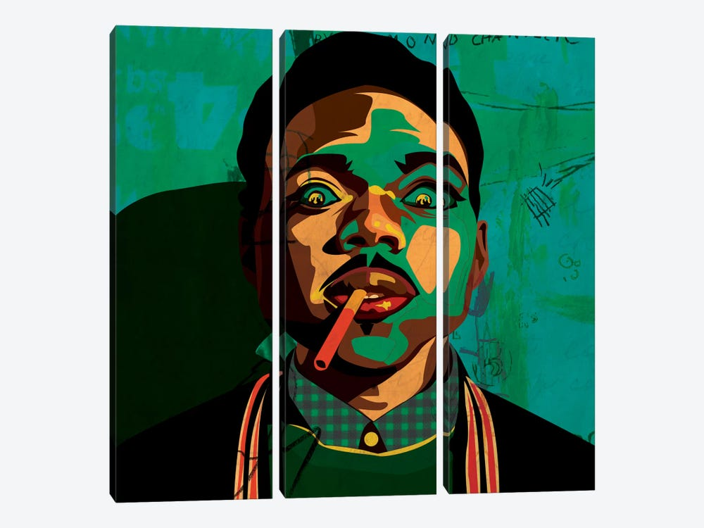 Chance The Rapper by Dai Chris Art 3-piece Art Print