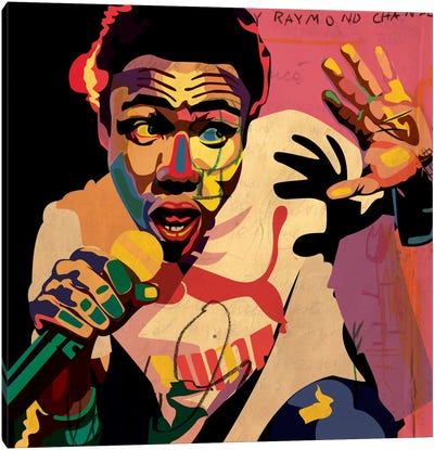 Childish Gambino Canvas Art Print