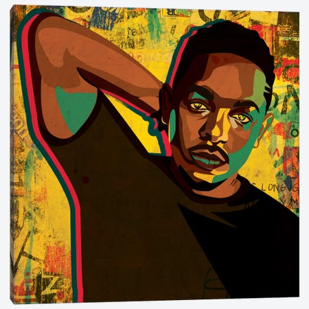 Kendrick Canvas Print #DCA51} by Dai Chris Art Canvas Art Print