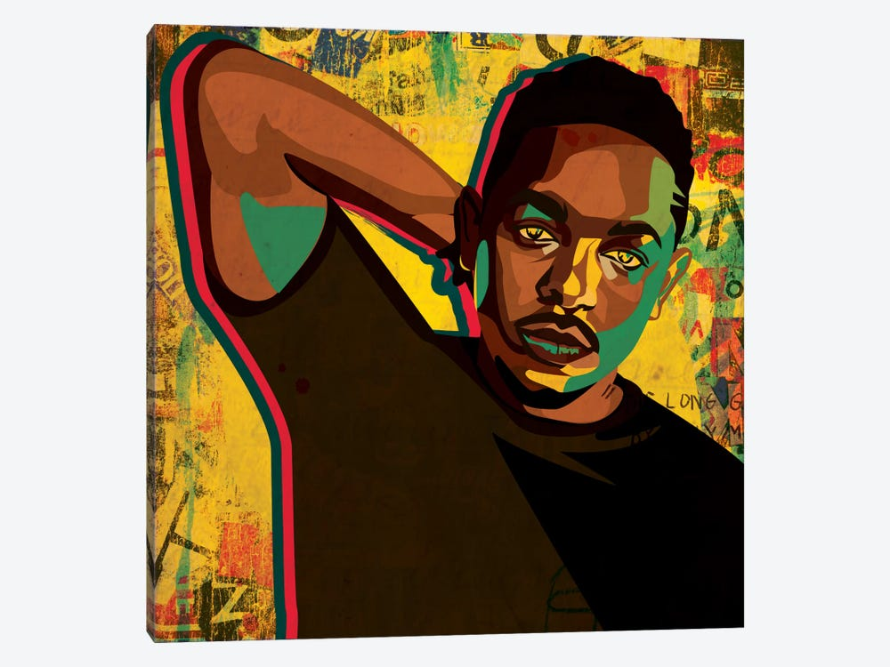 Kendrick by Dai Chris Art 1-piece Canvas Art