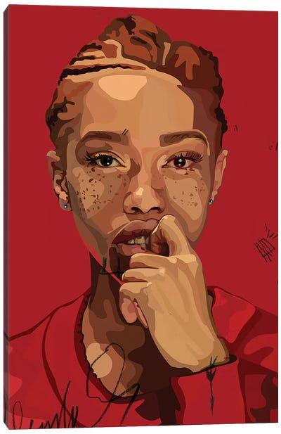 Freckles Girl Canvas Art Print