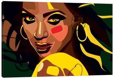 Beyonce Canvas Print #DCA5