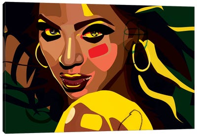 Beyonce Canvas Art Print