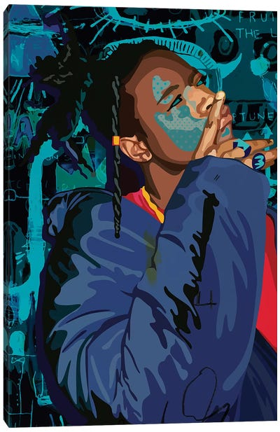Joey Bada$$ Canvas Art Print
