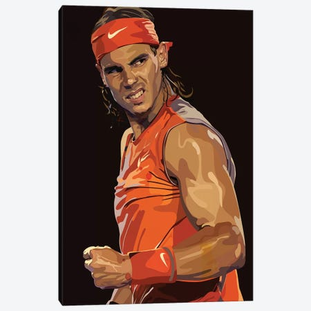 Nadal II Canvas Print #DCA65} by Dai Chris Art Canvas Art Print